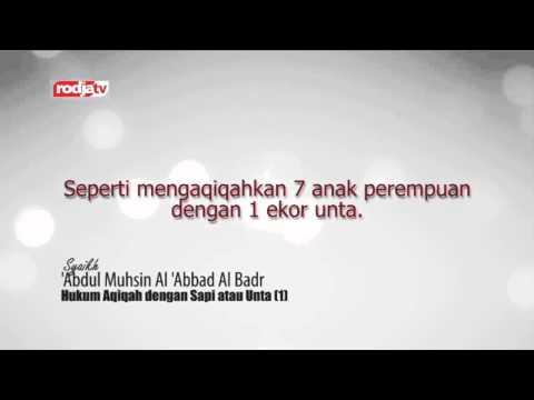 Fatwa Tentang Aqiqah (Syaikh Abdul Muhsin Al-Abbad Al-Badr)