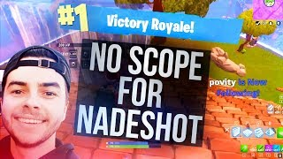 NO SCOPE FOR NADESHOT - Tfue Fortnite Twitch Highlights #4