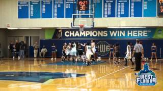 1/5 UWF Women's Basketball Highlights vs. Christian Brothers