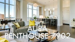 $2.4 Million - 79th Floor Penthouse in Toronto at AURA