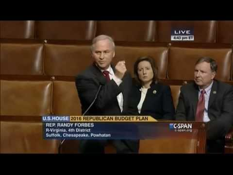 Forbes Discusses Sequestration, Budget on the House Floor