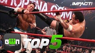 5 Most EPIC AJ Styles vs Samoa Joe Battles!   GWN Top 5