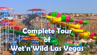 [HD Tour] Full Tour Overview of Wet n Wild Las Vegas - Newest Water Park