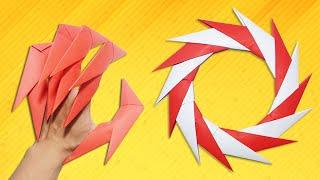 Origami Easy - Dragon Claws & Paper Ninja Star  14 points (shuriken) - Demo