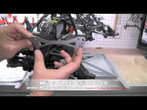 HPI Baja 5SC SS Build Video #44 Pages 56 &amp; 59