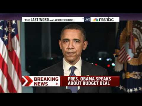 MSNBC - The Last Word - Obama, US Govt. Is 'Open For Business' 4-8-2011