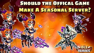 Idle Heroes (O) - Maple Leaves, Pray For Fire and an Official Seasonal Server?