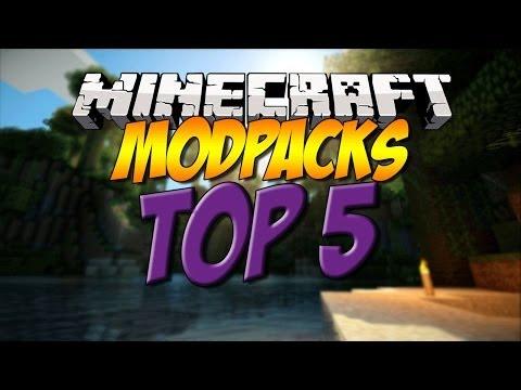 MINECRAFT TOP 5 MODPACKS - 2015 (HD) BEST MODPACKS EVER!
