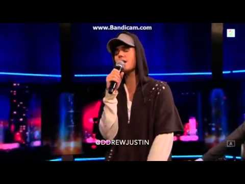 Justin Bieber - As Long As You Love Me LIVE on Senkveld, Norway