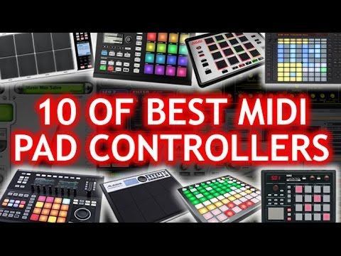 🎹 10 of the Best MIDI PAD Controllers