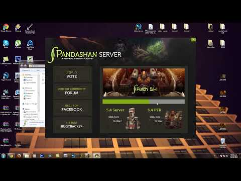 Descargar y Actualizar Gratis World of Warcraft Mist of Pandaria 5.4.2 desde Pandashan