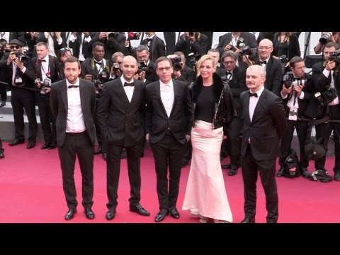Uma Thurman, Michelle Yeoh and more on the red carpet for the Premiere of Nelyubov in Cannes thumbnail