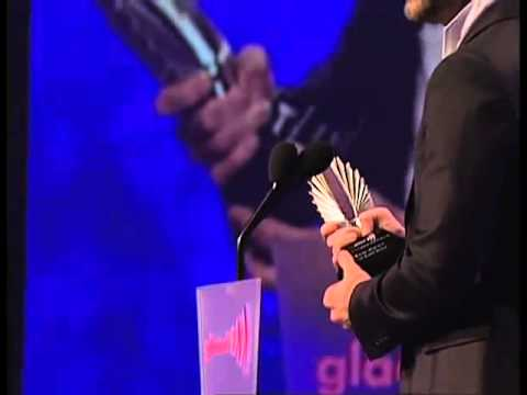Ricky Martin for his boyfriend Carlos...You Rock ........Glaad awards