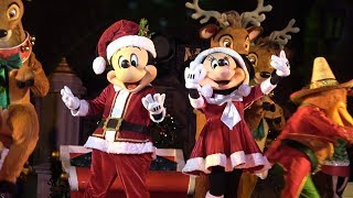 Christmas Party At Disney World 2017!! | Mickey's Very Merry Christmas Party Parade & Holiday Shows