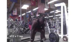 Mike Rashid: Dead Lift Progession