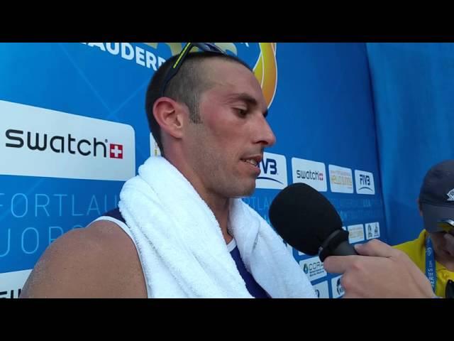 Nick Lucena and Phil Dalhausser beat #1 Brazil