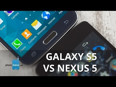 Samsung Galaxy S5 vs Google Nexus 5