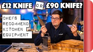 £12 Knife or £90 Knife? | Chefs Recommend Kitchen Equipment