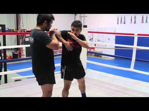Elbow Strike Off Fake Round Kick | Naples Muay Thai Kickboxing Image 1