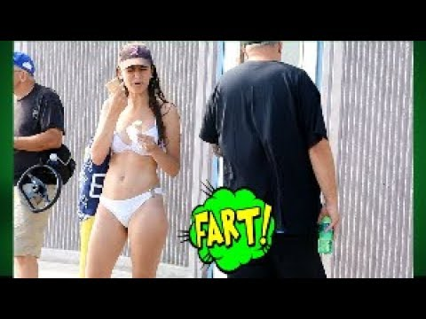 Peeing and Farting at the beach | Funny wet fart prank | The Sharter