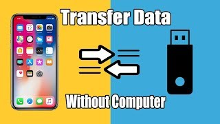 HOW TO TRANSFER FILES FROM USB TO IPHONE/IPAD | without computer