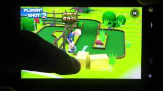 3D Mini Golf Challenge for Android - Review and Walkthrough