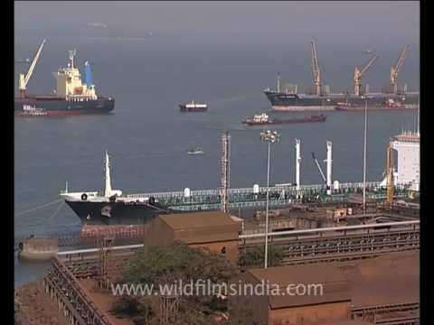 Ships in Goa docks