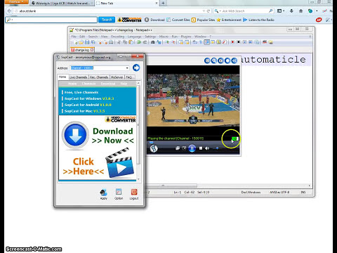 How to watch football live in sopcast