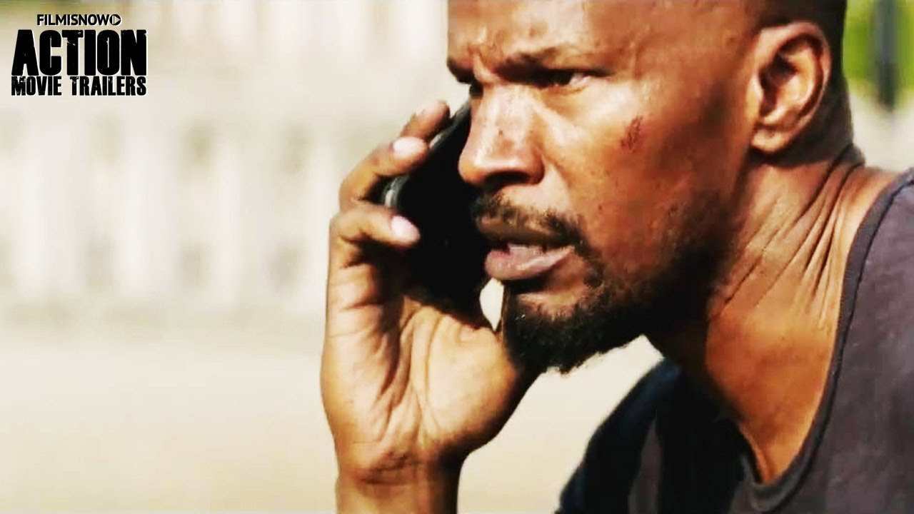 Jamie Foxx fights gansters in the action thriller SLEEPLESS