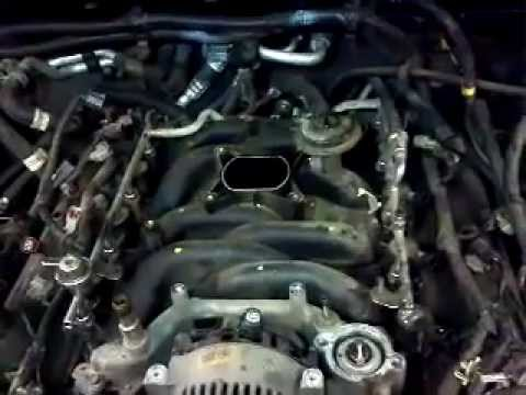 2002 Ford explorer 4.6L intake manifold swap cause of coolant leak