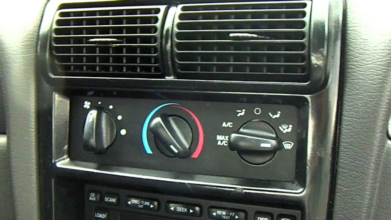 2004 Mustang V6 Interior Youtube