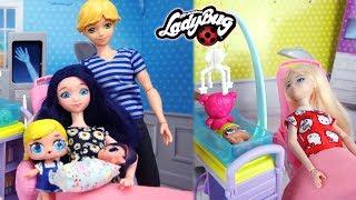 Les Bébés de la Miraculous LOL Family Surprise poupée,barbie,docteur,ambulance