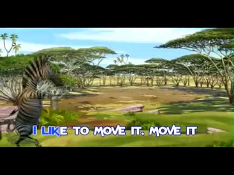 I Like to Move It (with lyrics)