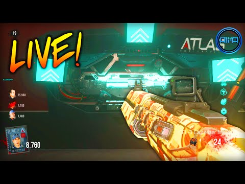 Advanced Warfare EXO ZOMBIES - LIVE! w/ Ali-A - (Call of Duty Zombies DLC)