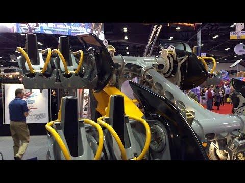 Batman Train Reveal Six Flags Fiesta Texas IAAPA 2014