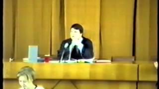 Архив НЭПС: Деловая игра 25 марта 1995. Суд присяжных. Часть 1