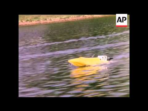 WORLD MODEL POWER BOAT CHAMPIONSHIPS - COLOUR