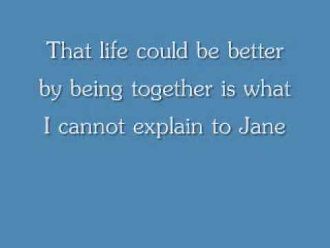 Jane w/lyrics