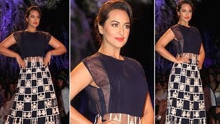 Lakme Fashion Week 2014 - Sonakshi Sinha turns showstopper