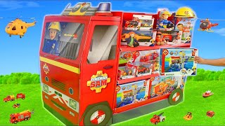 Fireman Sam Toys: Fire Truck Surprise, Cars & Toy Vehicles Play for Kids