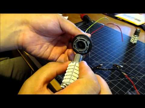 DIY 1157 Switchback LED installation