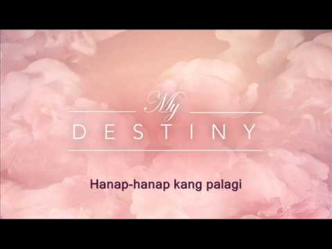 KUNG HINDI IKAW I My Destiny theme song I James Wright I LYRIC...