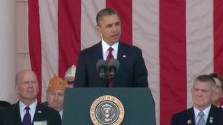 President Obama Honors Veterans  11/11/13