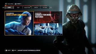 Star Wars Battlefront 2 May Update New Menu UI/No Holograms/New Skins (Part 1)