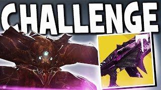 Destiny - NEW ORYX , WARPRIEST & GOLGOROTH CHALLENGE MODE GUIDE EASY !!