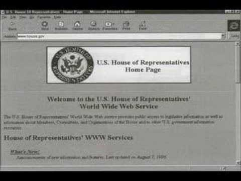 The Internet World Wide Web 1994 - 1998