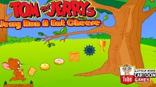 TOM AND JERRY GAMES - JERRY RUN N EAT CHEESE. Fun Tom and Jerry 2019 Games. Baby Games  #littlekids
