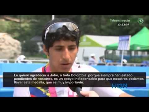 Colombia obtiene medalla de oro en el ciclismo de los Juegos Olimpicos Juveniles