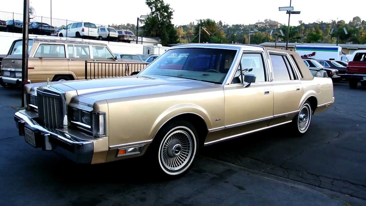 1985 Lincoln Town Car 5 0 Low Miles Cheap Classic Youngtimer Ford Import Export Transport Youtube
