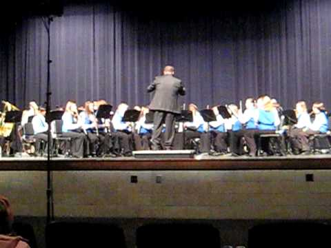 Inspiration Overture by the Sparkman Middle School Band 2010